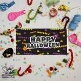 Halloween Text; Choc Wrapper