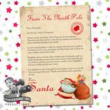 Santa Letter; Style B