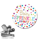 Confetti Baby Sprinkle/Shower; Circles