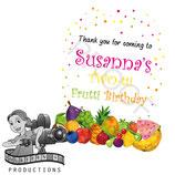 Tutti Frutti Gift Tags