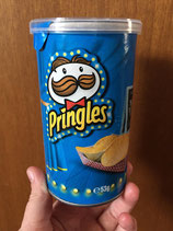 Pringle Label: Blue, Red & Yellow Paw Print