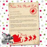 Santa Letter; Style G