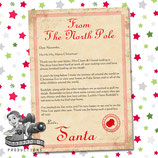 Santa Letter; Style D