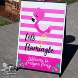Let's Flamingle; Poster