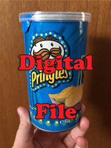 Panda Pringle Label - DIGITAL PDF FILE