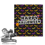Halloween Bats; M&M Tube Wrapper
