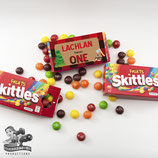 Lumberjack Skittles Box Wrapper