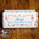 Ahoy It's A Boy; Choc Wrapper