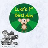 Monkey; Circle Labels