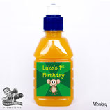 Monkey Pop Top Label