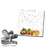 Food Tent Cards - Tutti Frutti; DIGITAL PDF FILE
