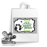 Panda; Party Bag Labels