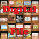 Film Strip Choc Wrapper - DIGITAL FILE