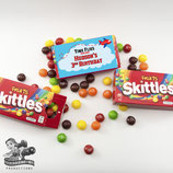 Airplane; Red & Blue Skittles Box Wrapper