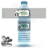 Panda Top Water Bottle Label