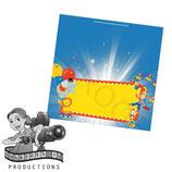 Food Tent Cards  - Big Top