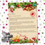 Santa Letter; Style F