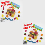 Bag Toppers - Digital PDF File