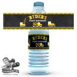 Construction; Water Bottle Label
