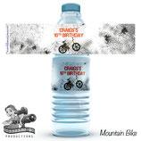 Mountain Bike Water Bottle Labels  - DIGITAL PDF FILE