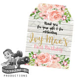 Floral & Timber Gift Tags