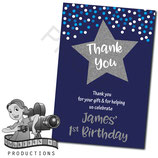 Twinkle Thank You Cards