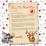 Santa Letter; Style C