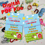 Invites - DIGITAL PDF FILE