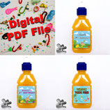 Pop Top Label  - DIGITAL FILE