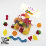 Tutti Frutti  Bag Toppers + Cello Bags