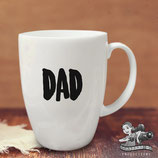 Father's Day Vinyl Name Label; Font 1 - Large