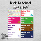 Book Labels: Digital PDF File