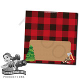 Food Tent Cards  - Lumberjack
