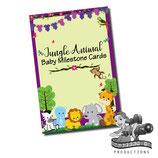 Milestone Cards: Jungle Animals
