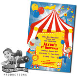 Big Top Invites
