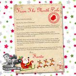 Santa Letter; Style A