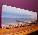 Largs Bay Beach 2; Canvas