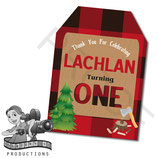 Lumberjack Gift Tags