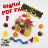 Construction Bag Toppers - Digital PDF File