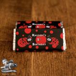 Ladybug; Choc Wrapper