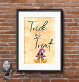 Trick or Treat Wall Print