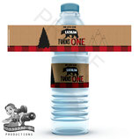 Bear; Water Bottle Label