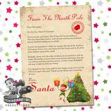 Santa Letter; Style E
