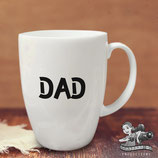 Father's Day Vinyl Name Label; Font 2 - Large
