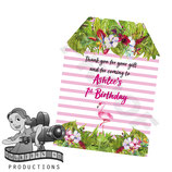 Flamingo, Watercolour  Gift Tags