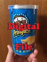 Construction Pringle Label - DIGITAL PDF FILE