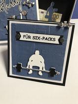 """Geschenkeset """"Für Sixpacks"""""""