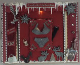 """Weihnachtskarte """"Dessous"""""""