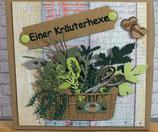 """Geburtstag """"Kräuterhexe"""""""