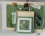 """Geburtstag """"Happy Birthday - Fußball grün-weiss"""""""